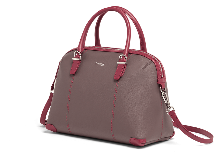 Variation Boston Tasche Grey/Raspberry | 4
