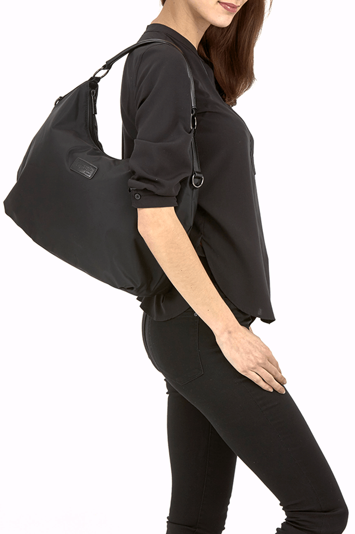 Lady Plume Hobo bag M Black | 3