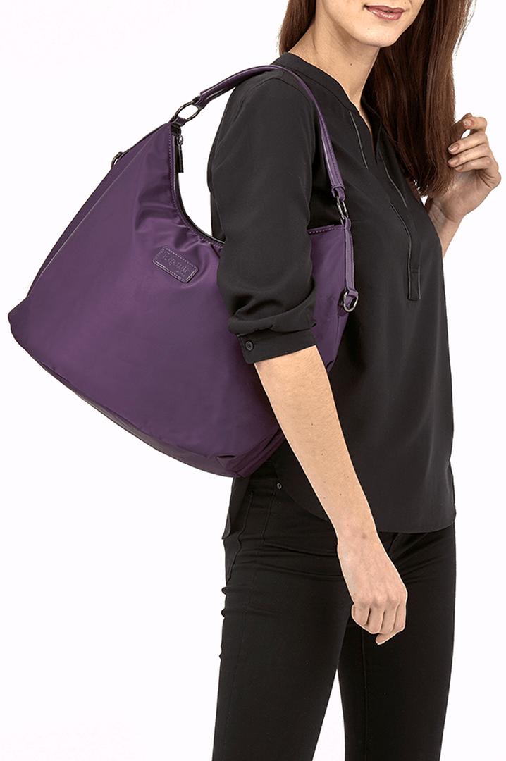 Lady Plume Hobo bag M Purple | 3