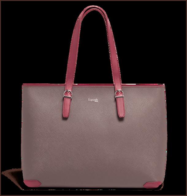 Variation Shopper Grey/Raspberry