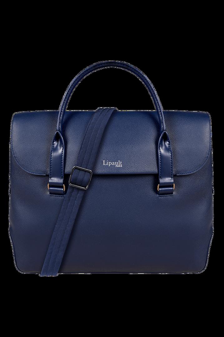 Plume Elegance Laptop Handtasche Navy   3