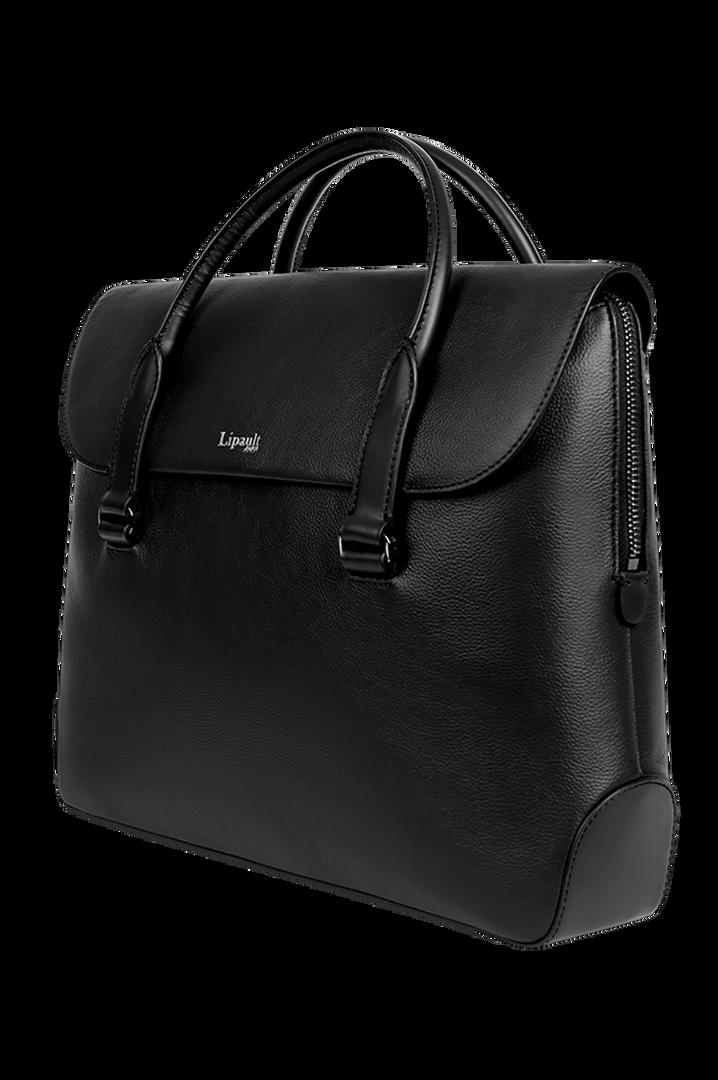 Plume Elegance Laptop Handtasche Black | 3