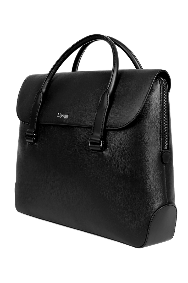Plume Elegance Laptop Handtasche Black | 4