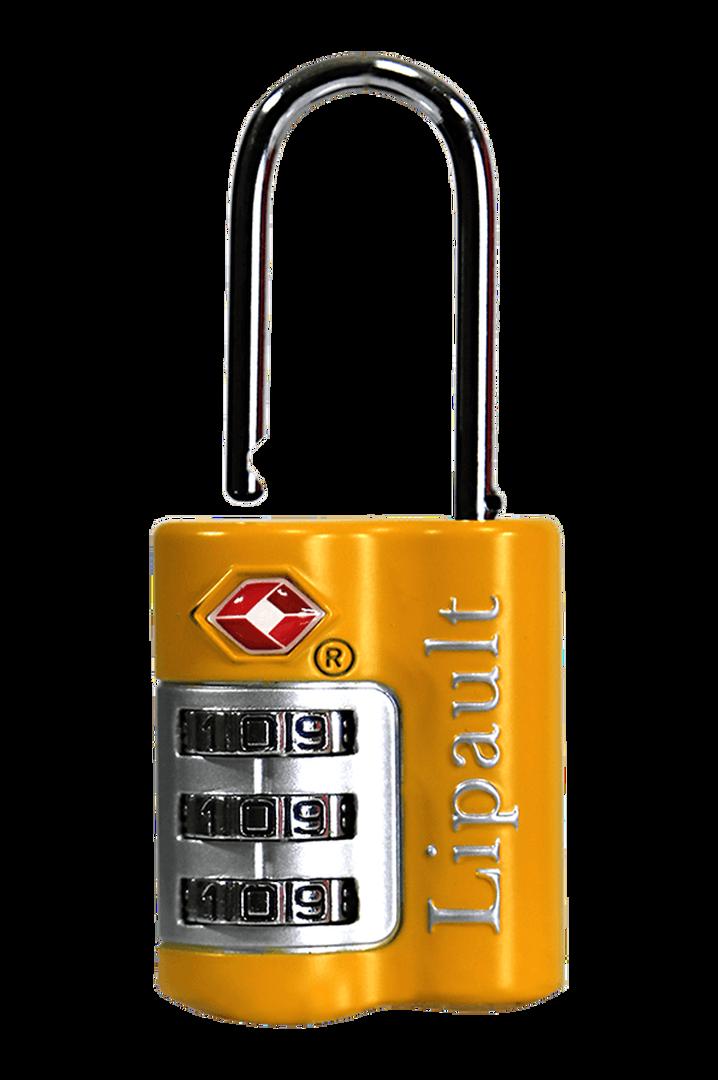 Lipault Travel Accessories Schloss Light Yellow   1