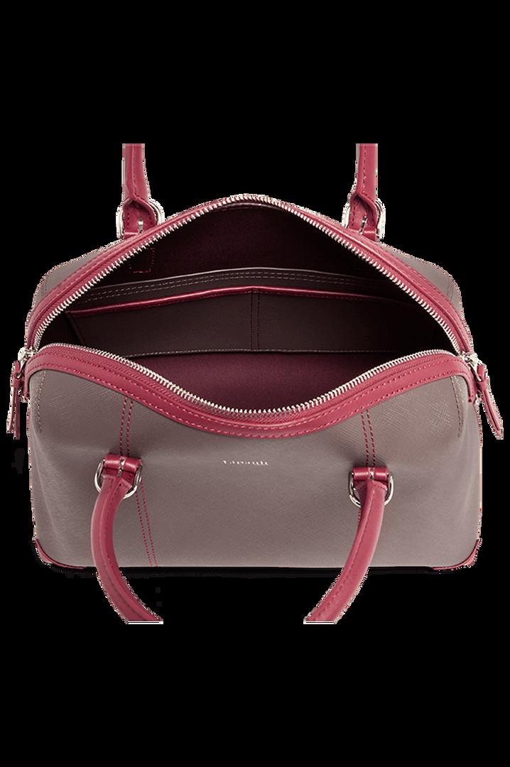Variation Boston Tasche Grey/Raspberry | 2