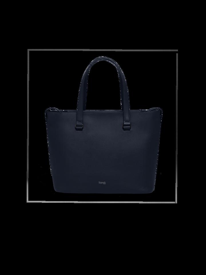Plume Elegance Shopper L Navy   1