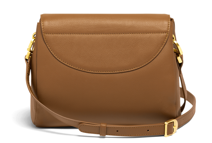 Plume Elegance Crossover Bag Cognac | 3