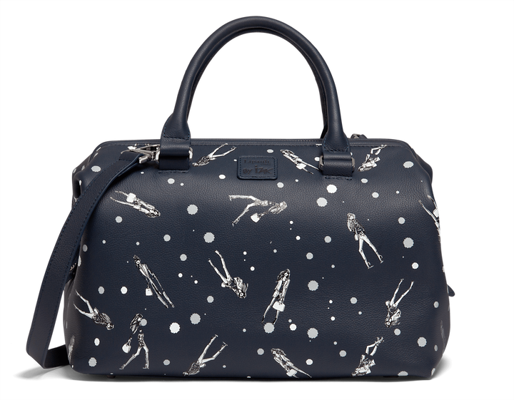 Izak Zenou Collab Bowlingtasche  Pose/Night Blue | 1