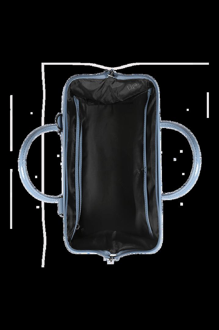 Plume Vinyle Bowlingtasche S Steel Blue | 2