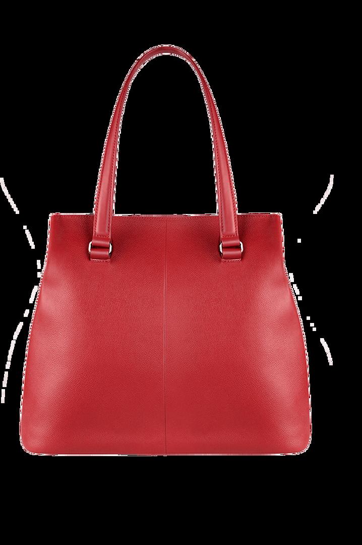 Plume Elegance Shopper L Ruby   2