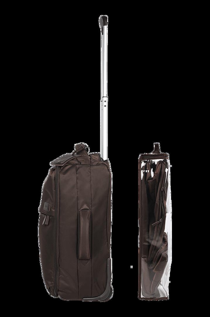 Pliable Trolley mit 2 Rollen 55cm Chocolate   3
