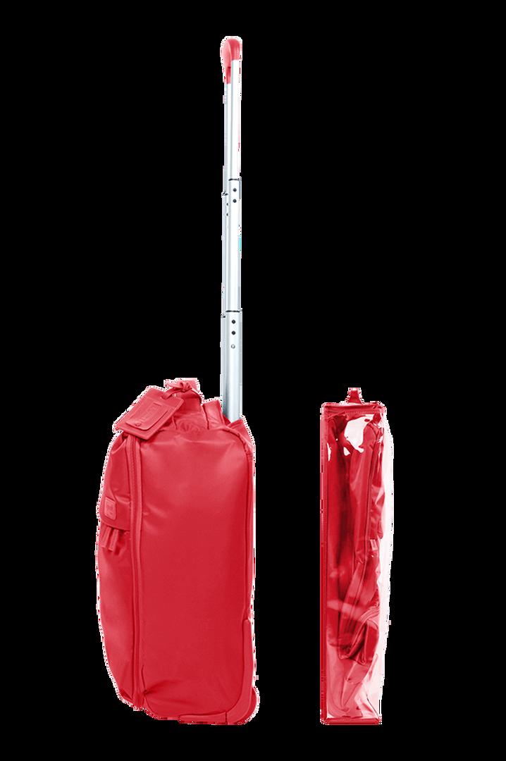 Pliable Trolley mit 2 Rollen 50cm Poppy Red   3