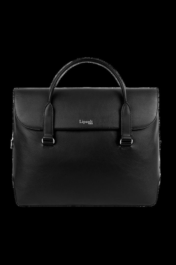 Plume Elegance Laptop Handtasche Black | 1