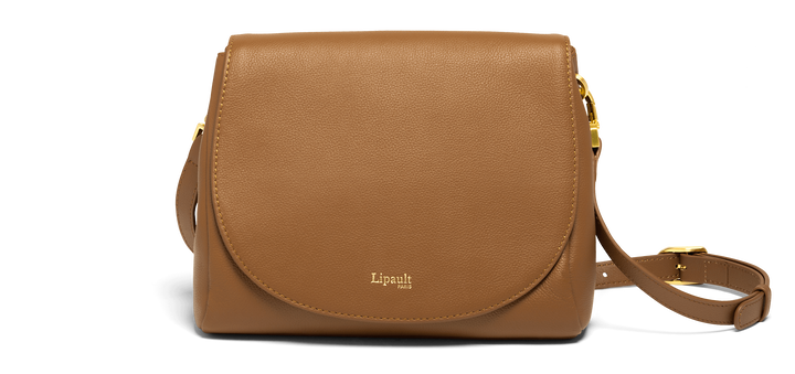 Plume Elegance Crossover Bag Cognac | 1