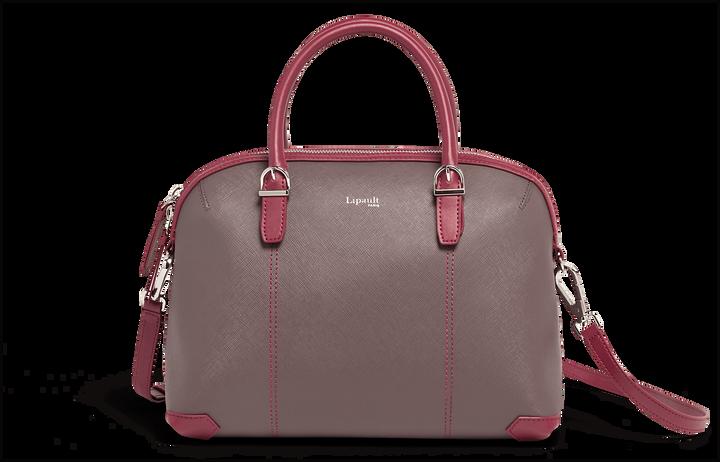 Variation Boston Tasche  Grey/Raspberry   1