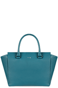 Plume Elegance Satchel Tasche Duck Blue