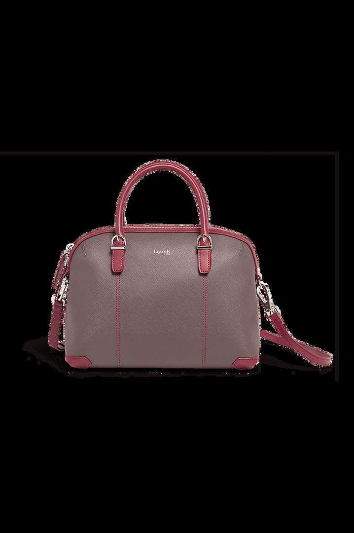 Variation Boston Tasche Grey/Raspberry | 1