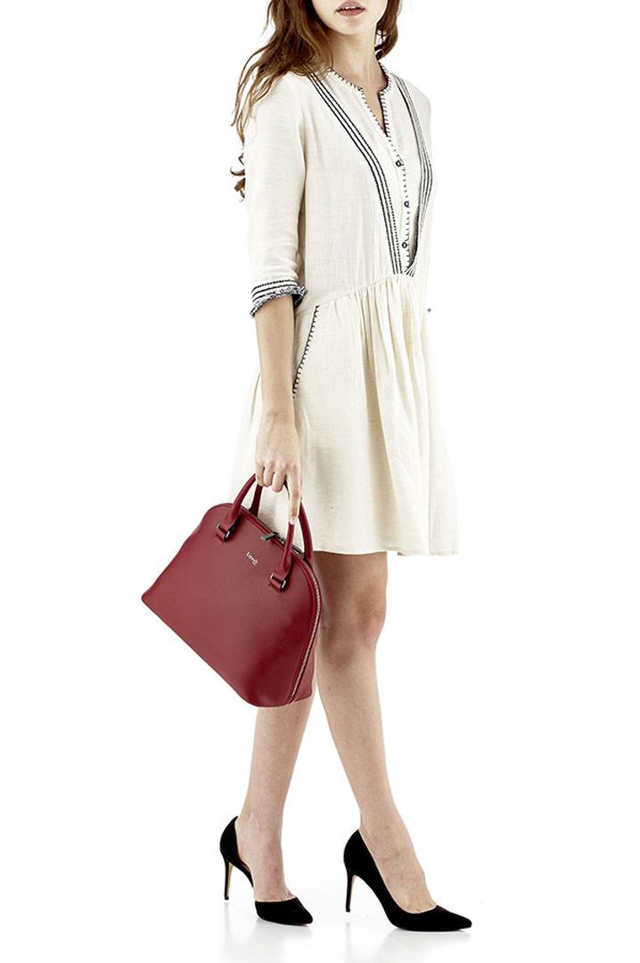 Plume Elegance Handtasche M Ruby | 3