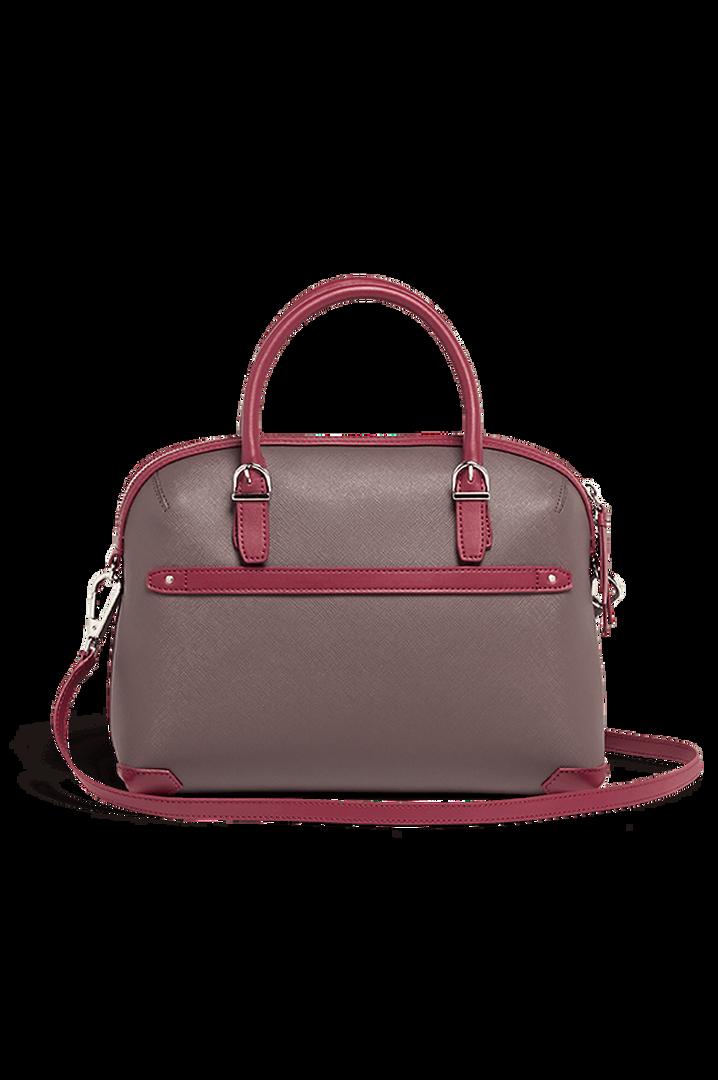 Variation Boston Tasche Grey/Raspberry | 3