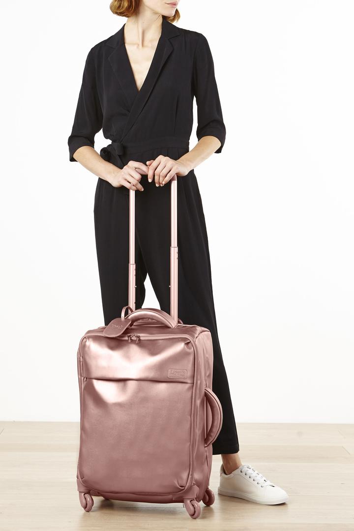Miss Plume Trolley mit 4 Rollen 55cm Pink Gold | 3