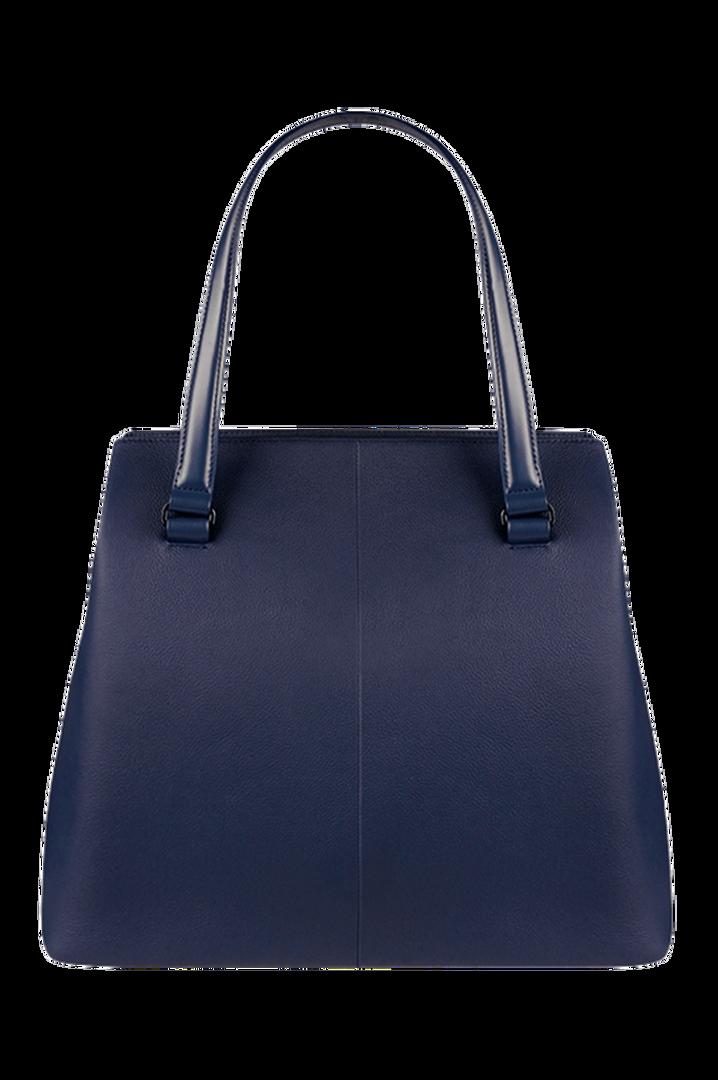Plume Elegance Shopper L Navy   2