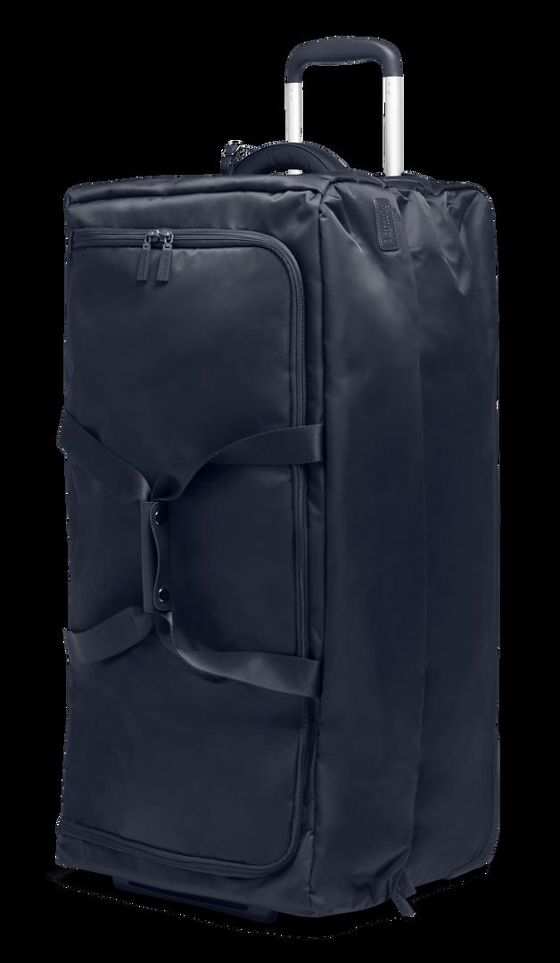 Pliable Reisetasche mit Rollen 78cm Navy | 2