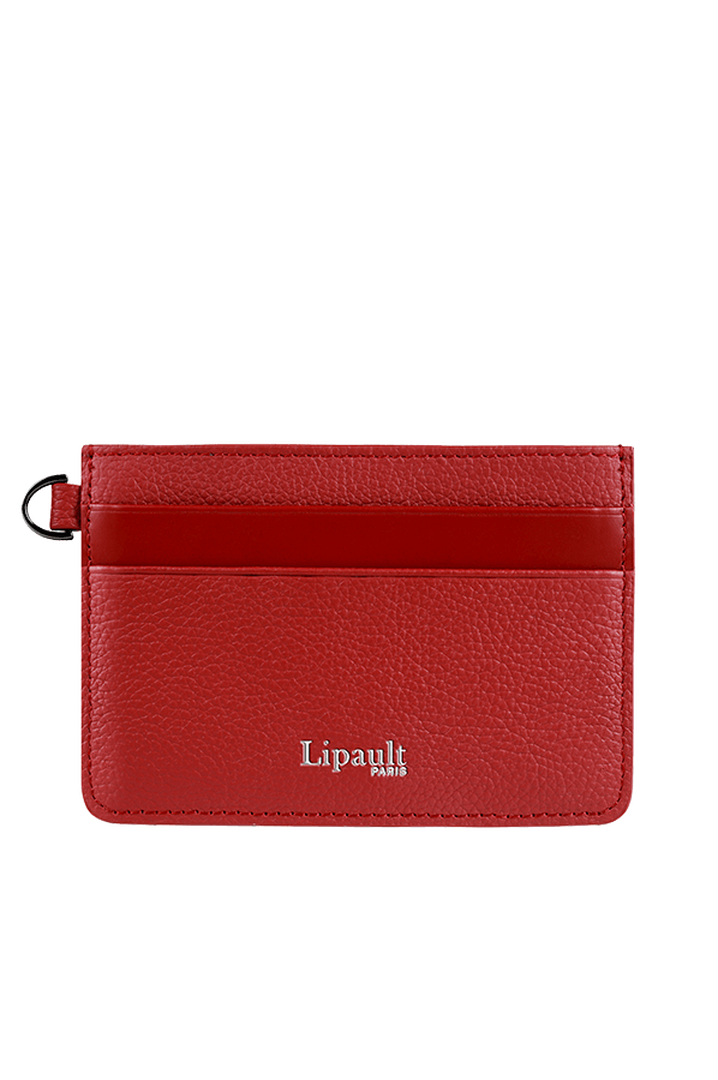 Plume Elegance Kreditkartenetuis Ruby   1