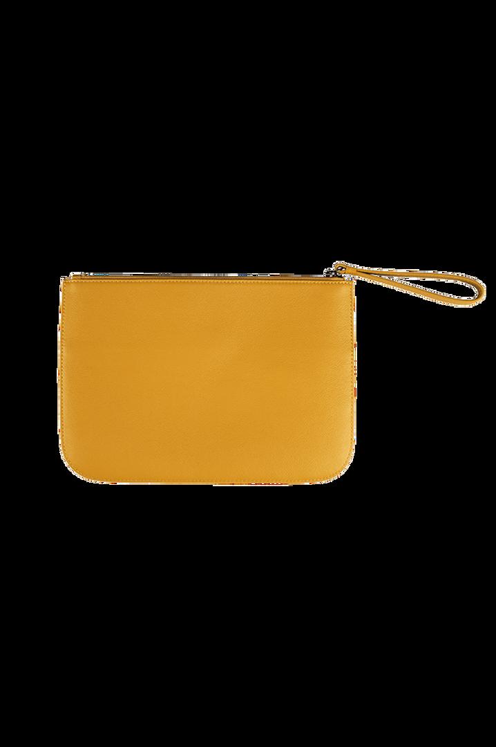Plume Elegance Pochette Mustard | 3