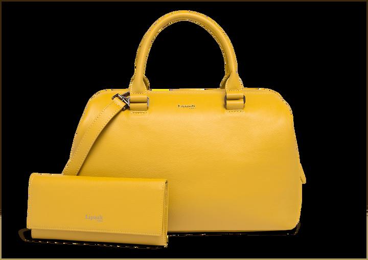 Plume Elegance Geldbörse Mustard | 4