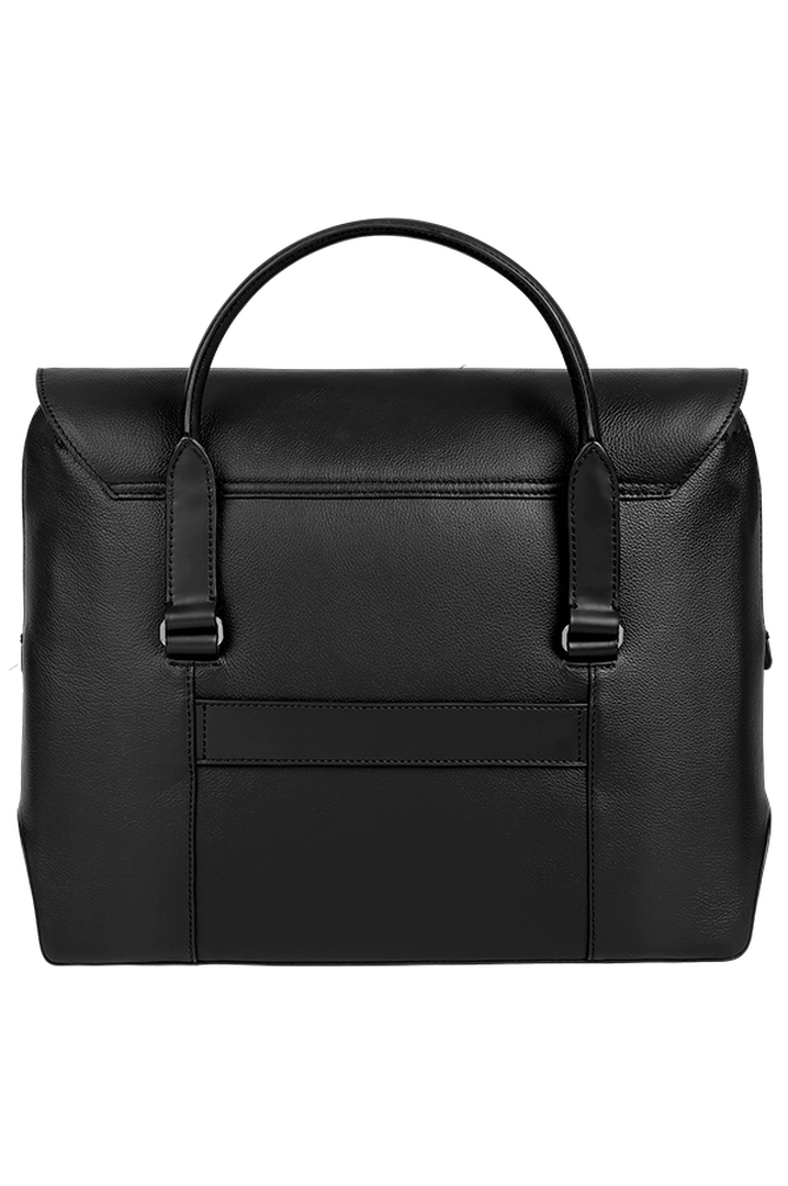Plume Elegance Laptop Handtasche Black | 2